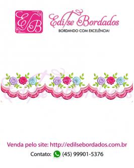 Barrinha Rosas Edi 1 - Foto 1