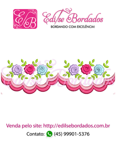 Detalhes do produto Barrinha Rosas Edi 1