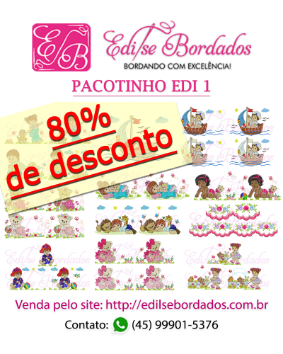 Detalhes do produto Pacotinho Edi 1