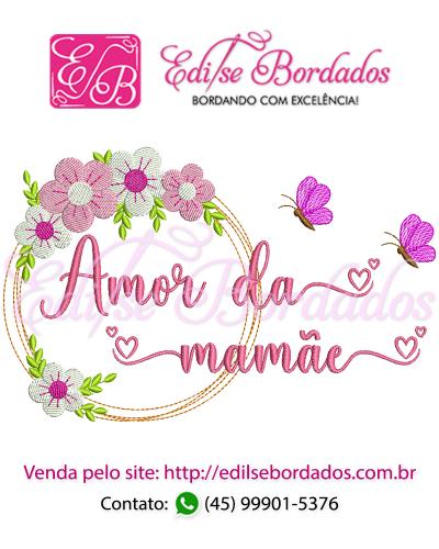 Detalhes do produto Amor da Mamãe Moldura Edi 43