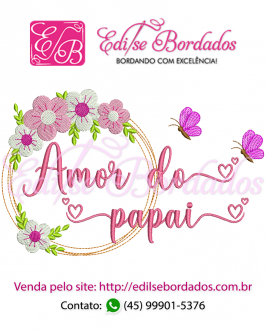 Amor do Papai Moldura Edi 43