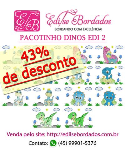 Detalhes do produto Pacotinho Dinos Edi 2
