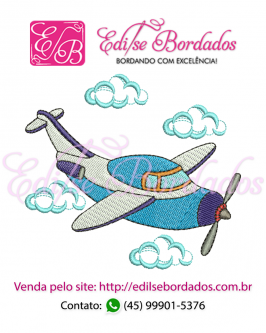 Avião Edi 2 - Foto 1