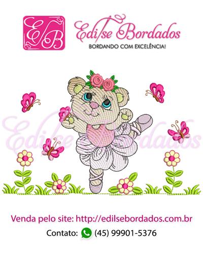 Detalhes do produto Ursinha Edi 16 - Bailarina Rippled