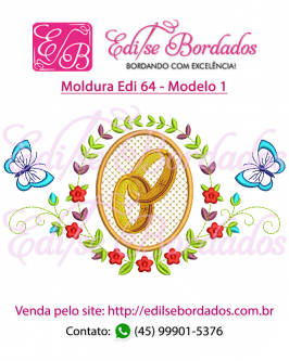 Moldura Edi 64 - Foto 1