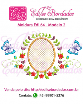 Moldura Edi 64 - Foto 2