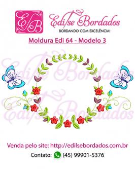 Moldura Edi 64 - Foto 3