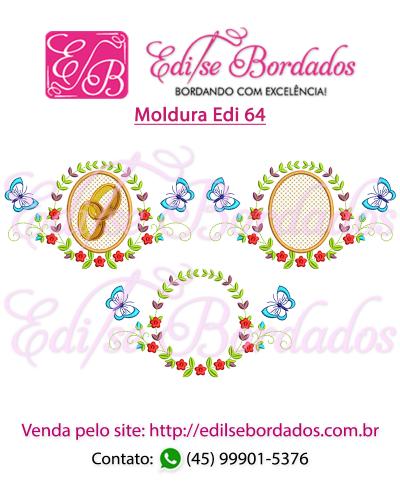 Detalhes do produto Moldura Edi 64