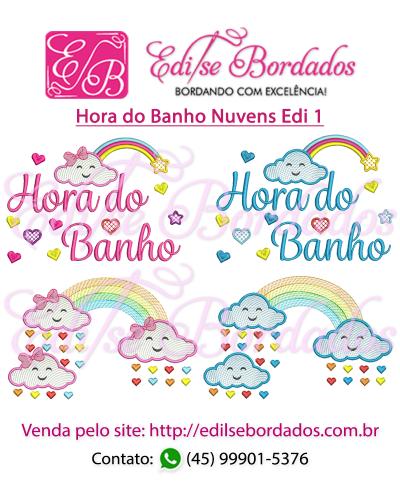 Detalhes do produto Hora do Banho Nuvens Edi 1