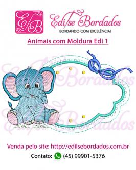 Animais com Moldura Edi 1 - Foto 1