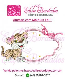 Animais com Moldura Edi 1 - Foto 10
