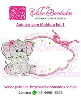 Animais com Moldura Edi 1 - Foto 2