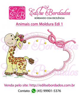 Animais com Moldura Edi 1 - Foto 3