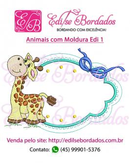 Animais com Moldura Edi 1 - Foto 4