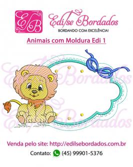 Animais com Moldura Edi 1 - Foto 7