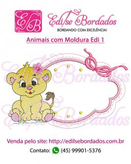 Animais com Moldura Edi 1 - Foto 8