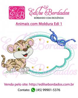 Animais com Moldura Edi 1 - Foto 9