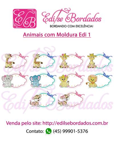 Detalhes do produto Animais com Moldura Edi 1
