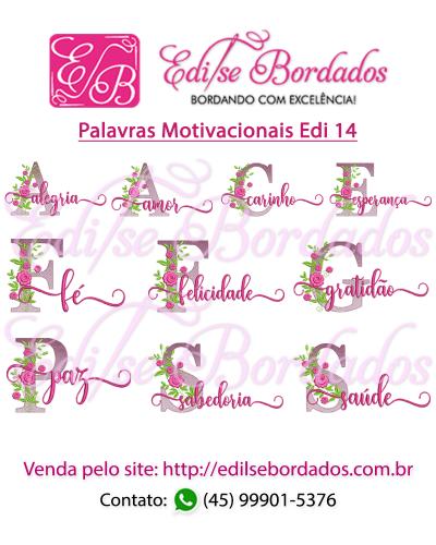 Detalhes do produto Palavras Motivacionais Edi 14