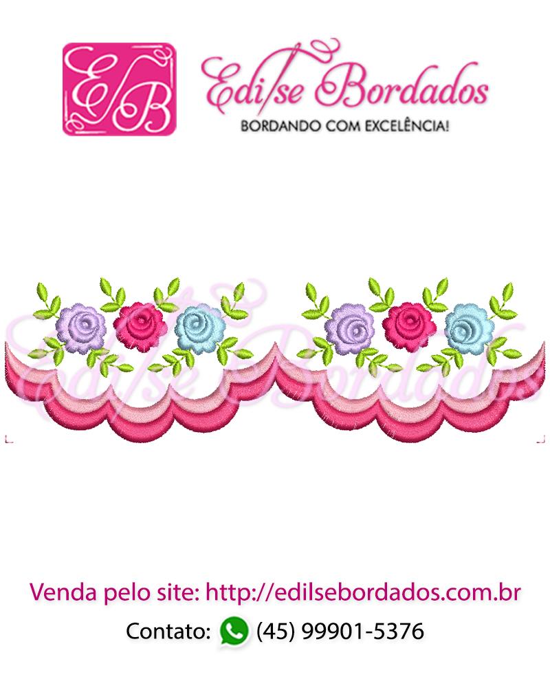 Barrinha Rosas Edi 1
