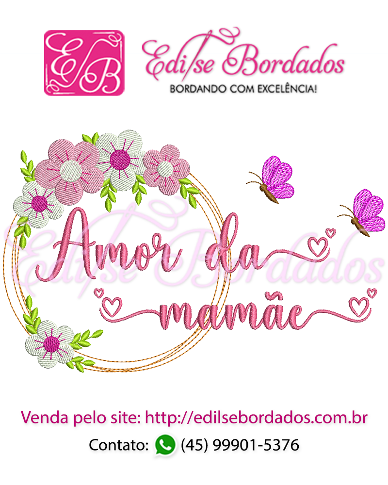 Amor da Mamãe Moldura Edi 43